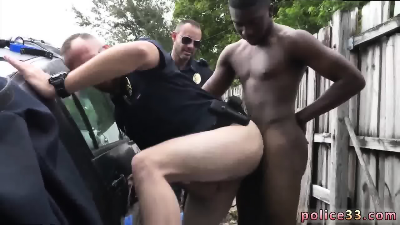 Caught black gay porn