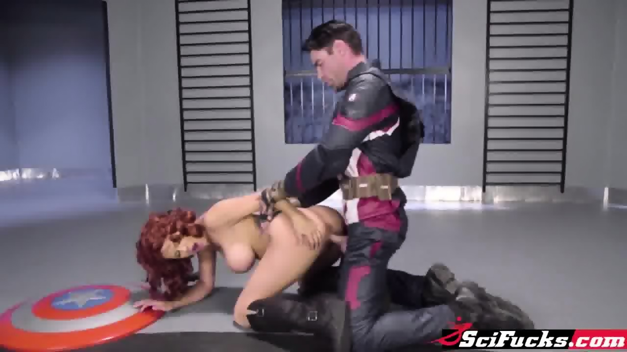 Captain america and black widow porn
