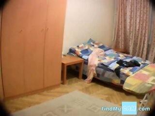 Hidden cam in wife s room