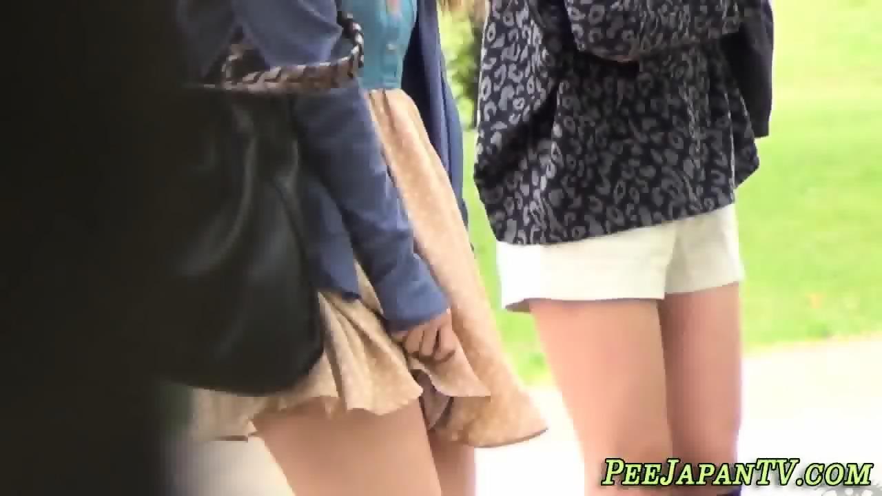 Asian Girl Masturbating Toilet