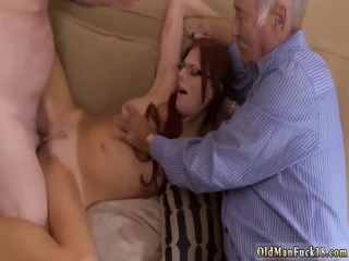 Hot euro babe fucks old man Frannkie And The Gang Take...