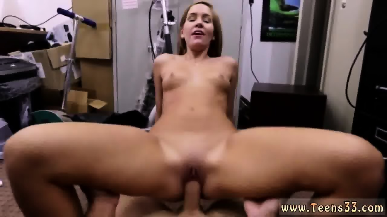 Chick with huge tits has orgasm