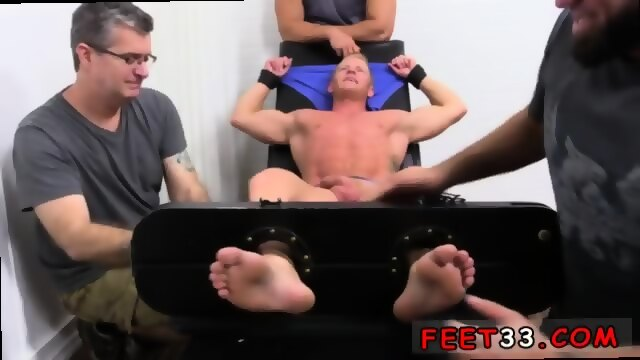 A homo porn scene with three slutty actors