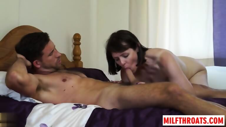 British Mature Blow Job