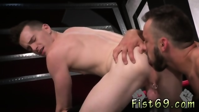Naked Men Fisting Other Gay Aiden Woods Is On His Back And Bellows To Axel Abysse