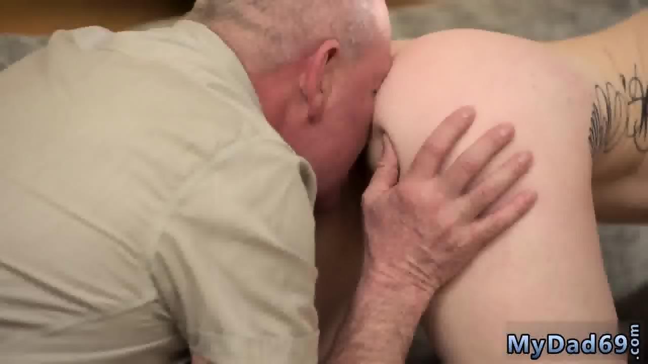 Old Man Licks Young Ass