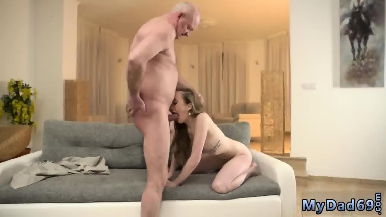 Japanese Old Man Massage