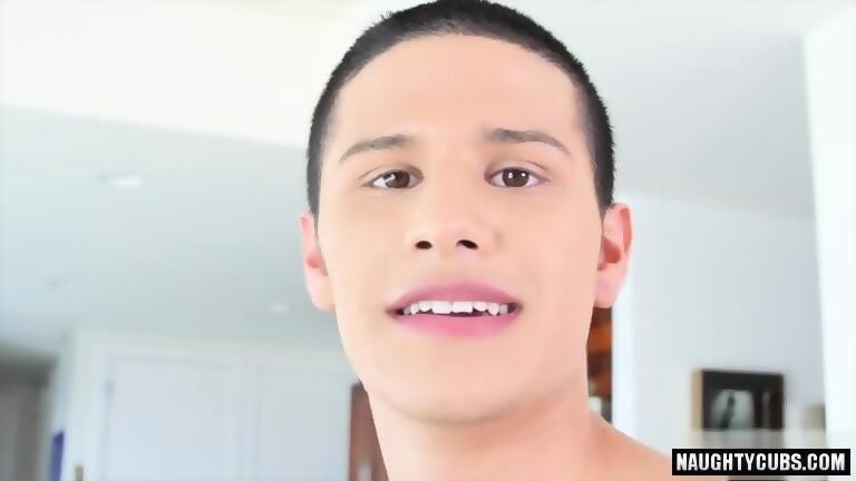 Latin boy anal with cumshot