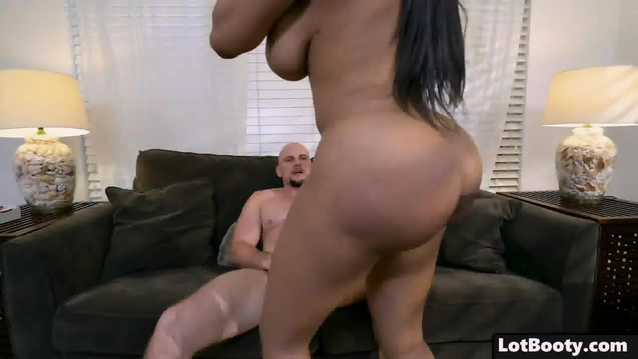 black booty interracial Big