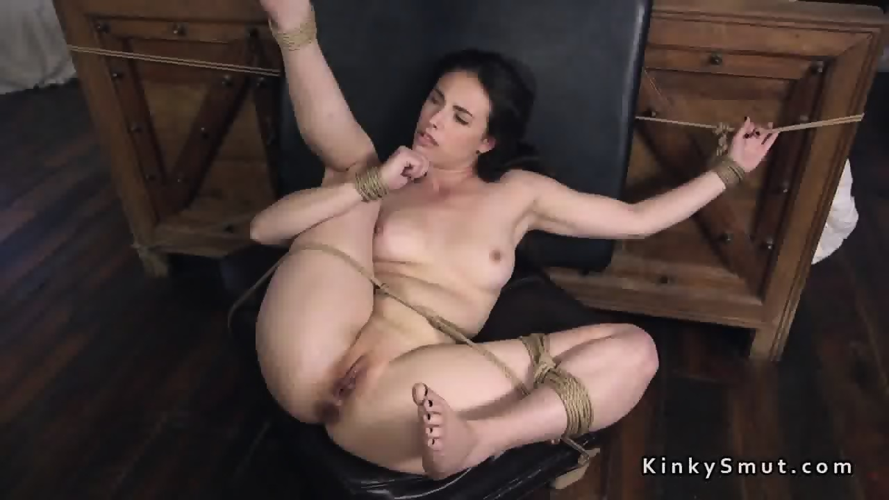 Tied up anal porn