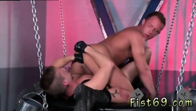 Lustful gay guys butt banging