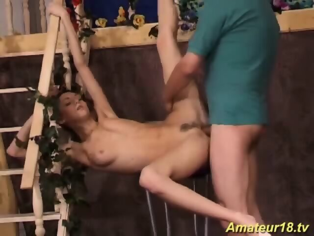Young Amateur Giving Head