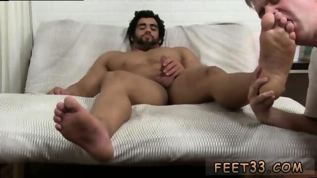 queer porn Big foot