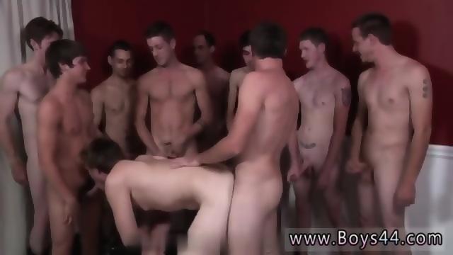 Gay handjob shower