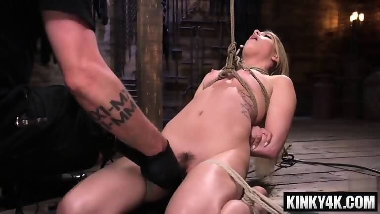 Bondage orgasm video