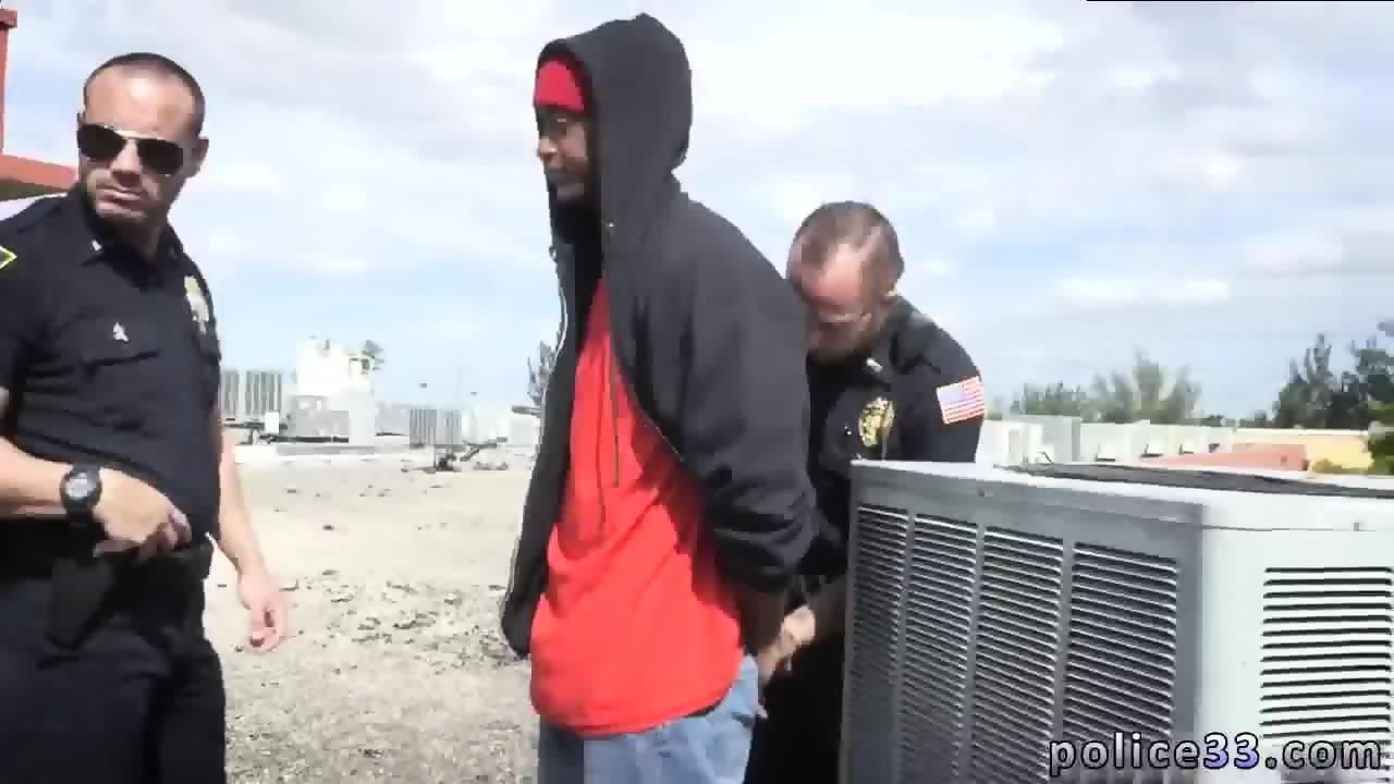 Porno african police