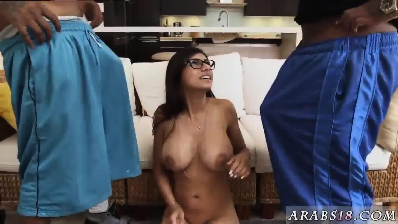 Black threesome huge black titties