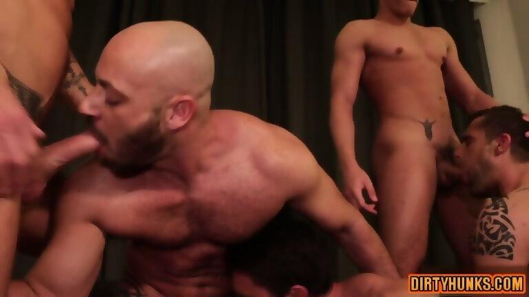 Bare muscle scene three