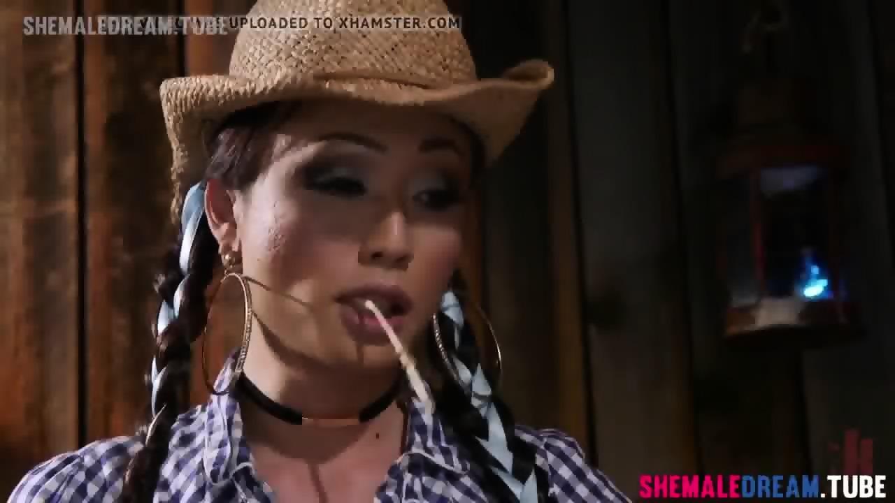 Tranny Venus Lux Fucking The Farm Boy See Full Video At Shemaledream Tube