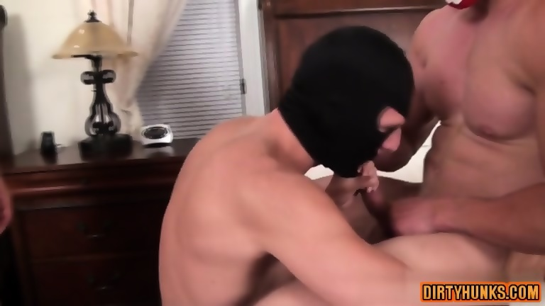 Muscle bodybuilder domination and facial