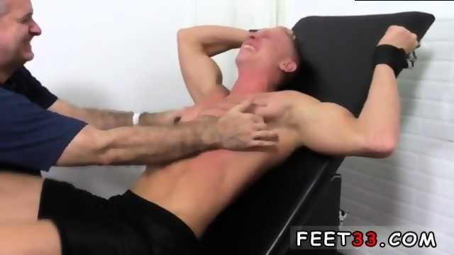 Man tickled in chair
