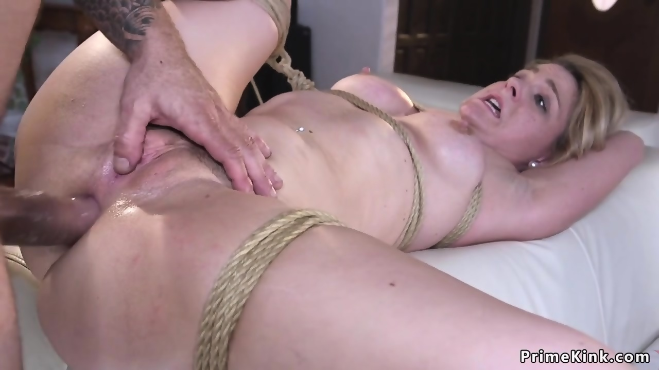 videos Tied and fucked