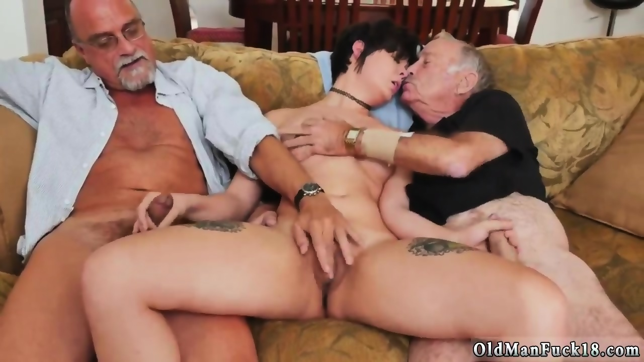 Teen Gives Old Man Handjob