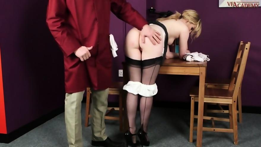 Janitor Fucks Naughty Girl - scene 6