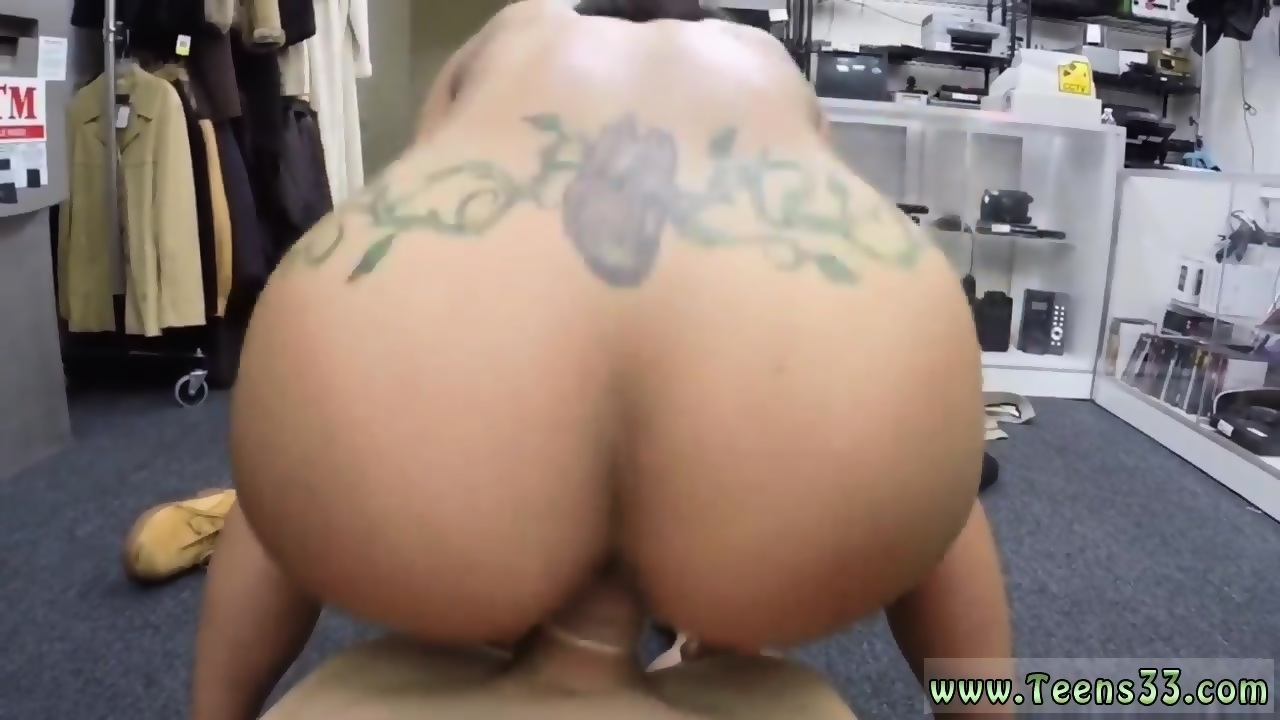 Naked wife gets ass licked