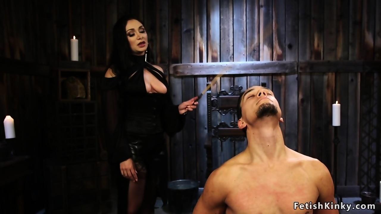 black haired dominatrix