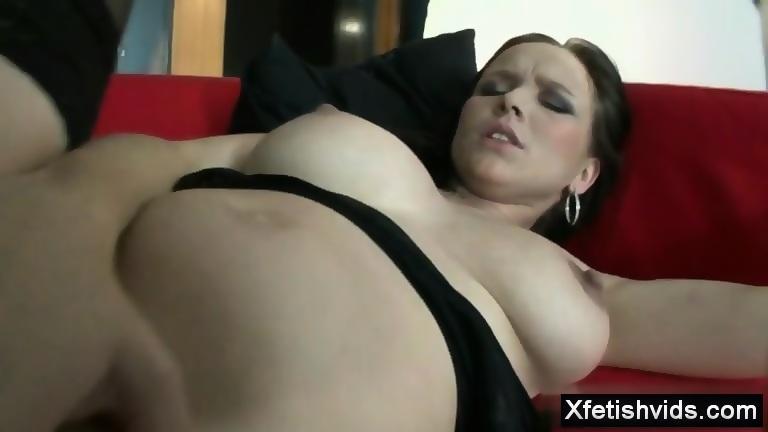 Foot bondage video