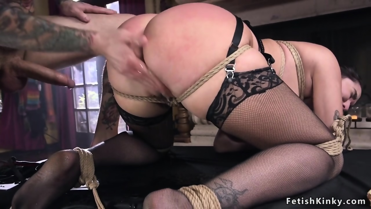 Maid skinny shaved doctor