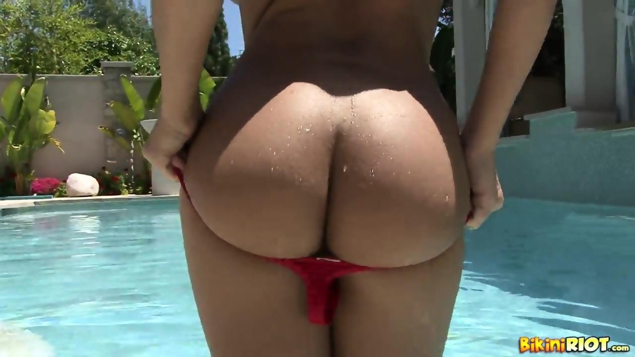 hot girls taking their bikini off