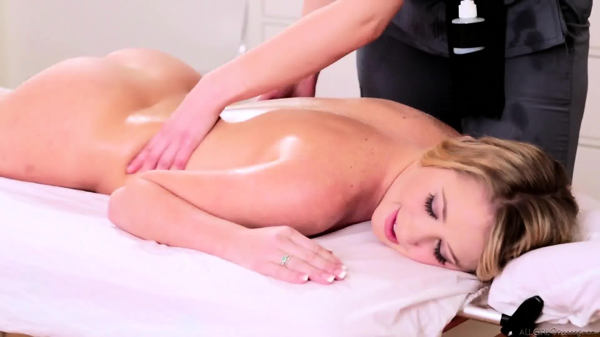 Full body massage video