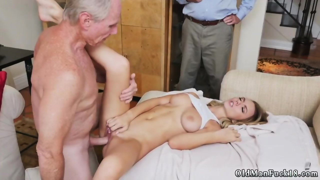 Old Couple Fuck Babysitter