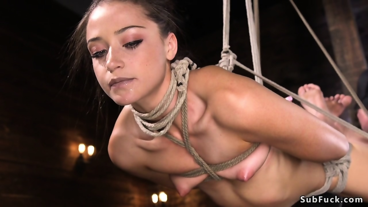 Gagged big tits fondled sucked fucked
