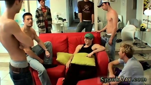 Horny Gay Sex Story A Gang Spank For Ethan Scene 4