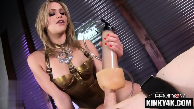 Hot mistress domination and orgasm - EPORNER
