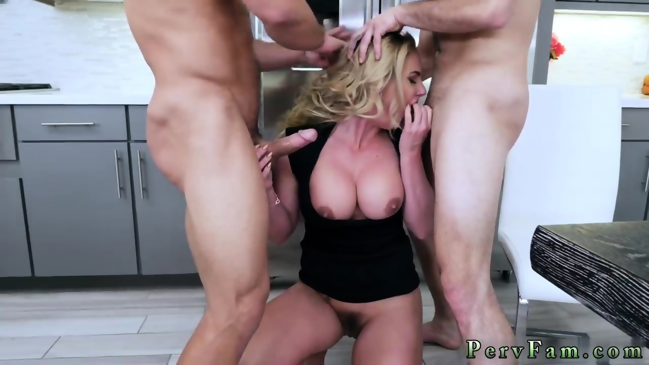 German Blonde Public Blowjob