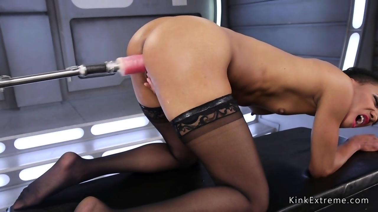 Big Ass Ebony Teen Dildo