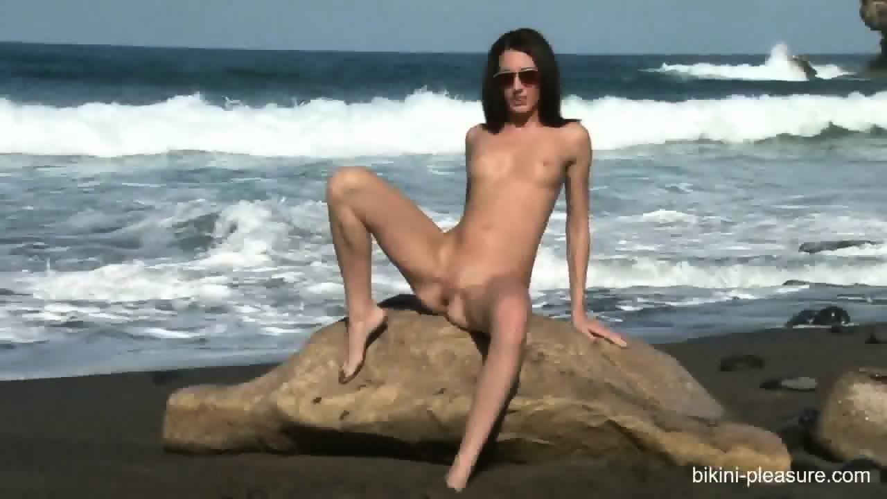 hot naked beach