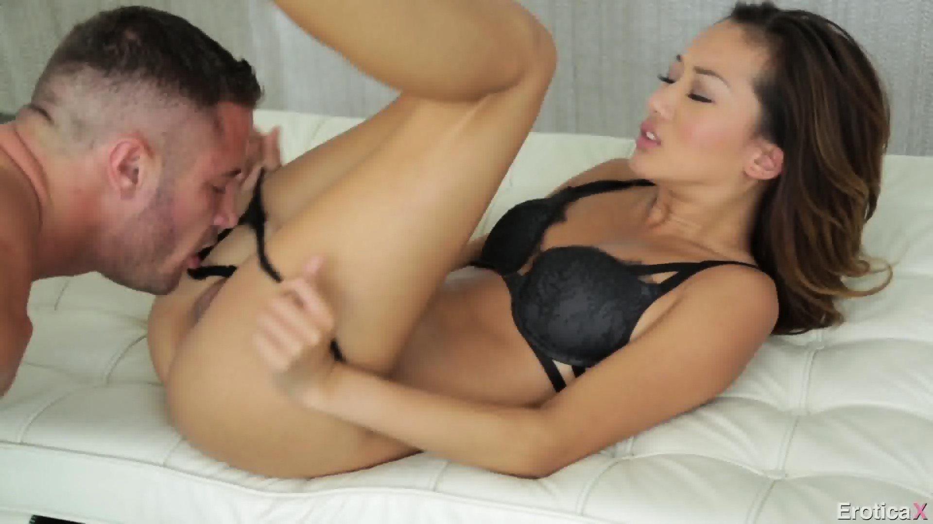 image Horny little asian fucks and rubs her pussy with dildo and vibrators