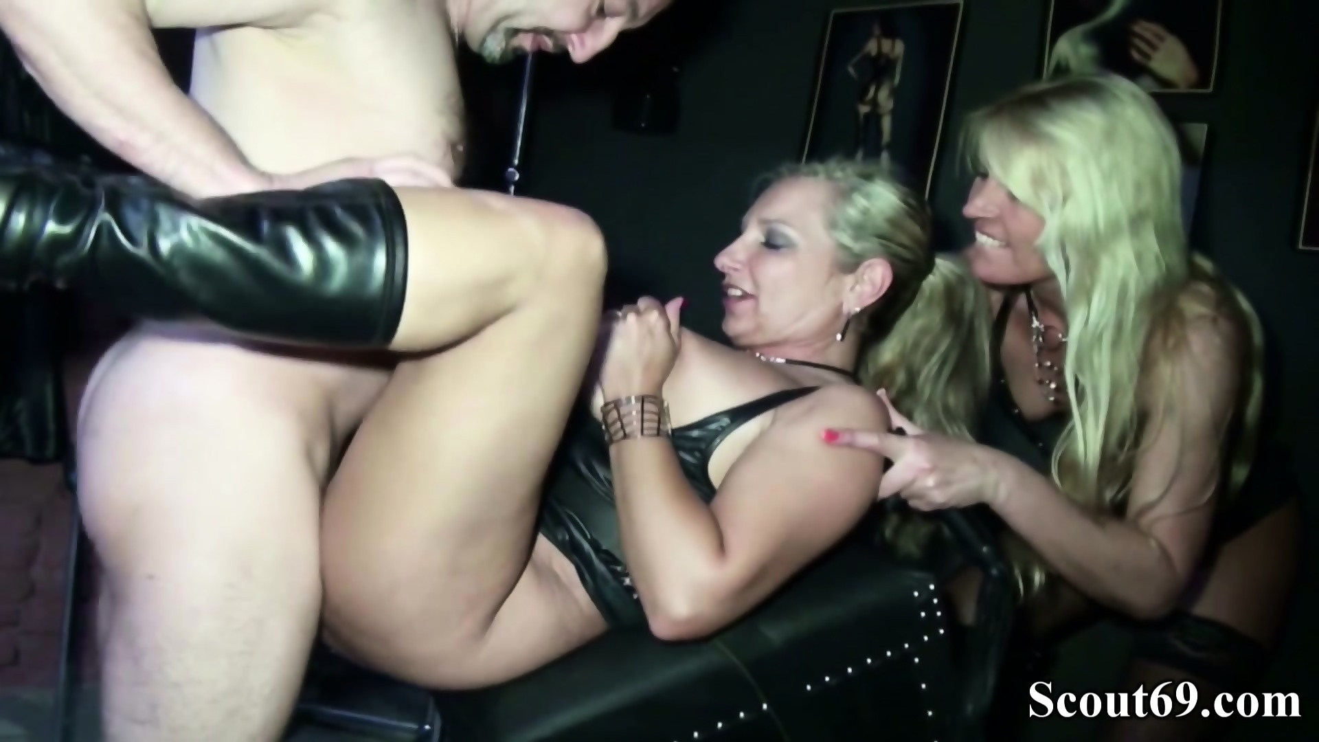 Two German Dominas In Femdom Fuck With Her Slave In Dom - scene 11