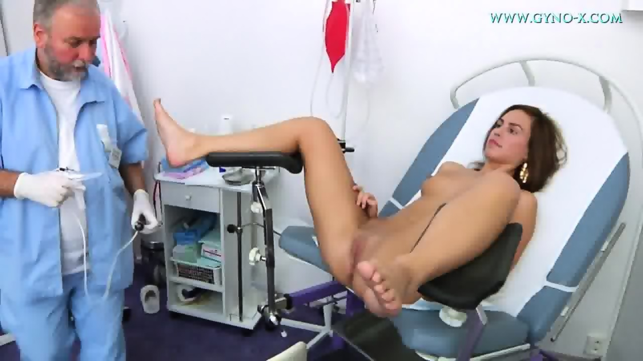 Hot blonde fucked by strap on