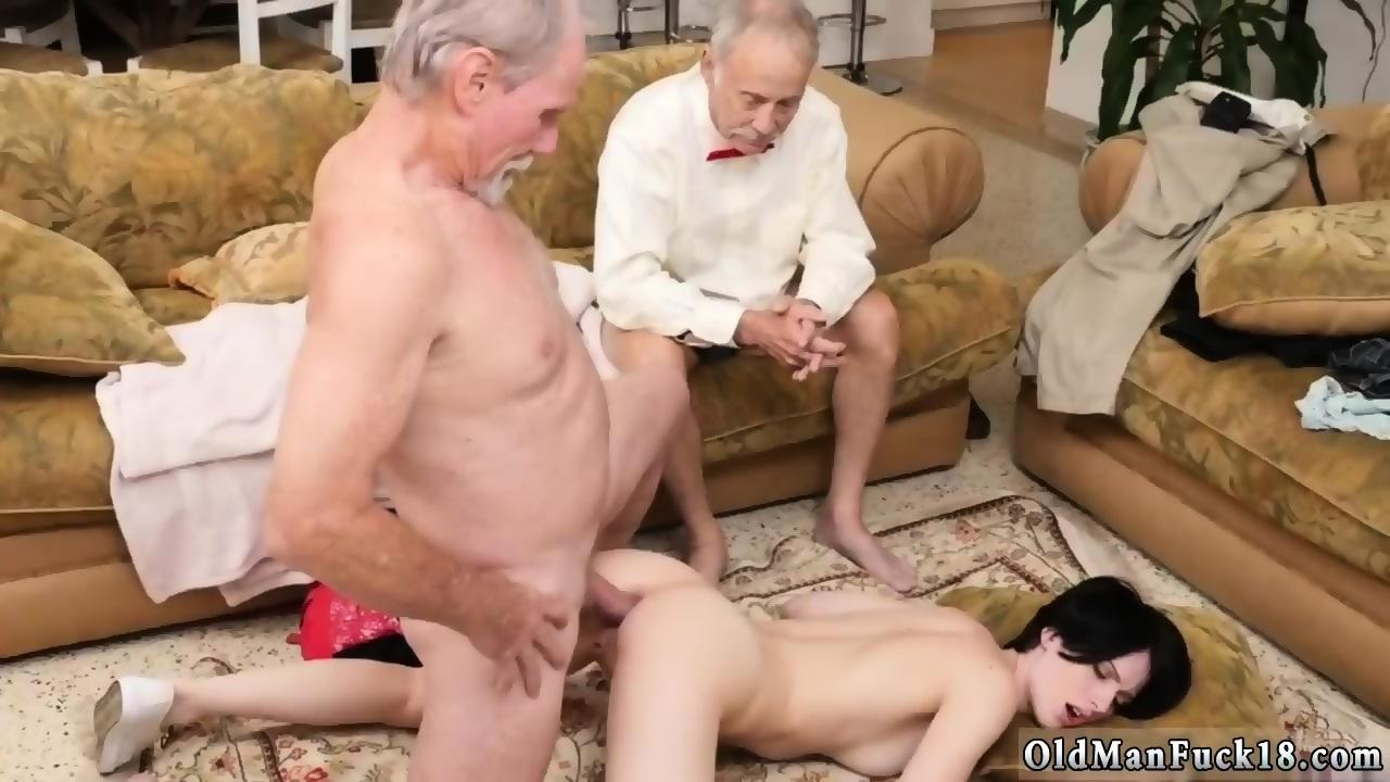 Old men handjob complation video