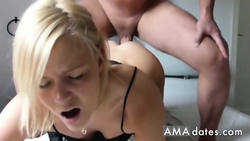 Amateur anal sex with cute blonde girl - scene 8