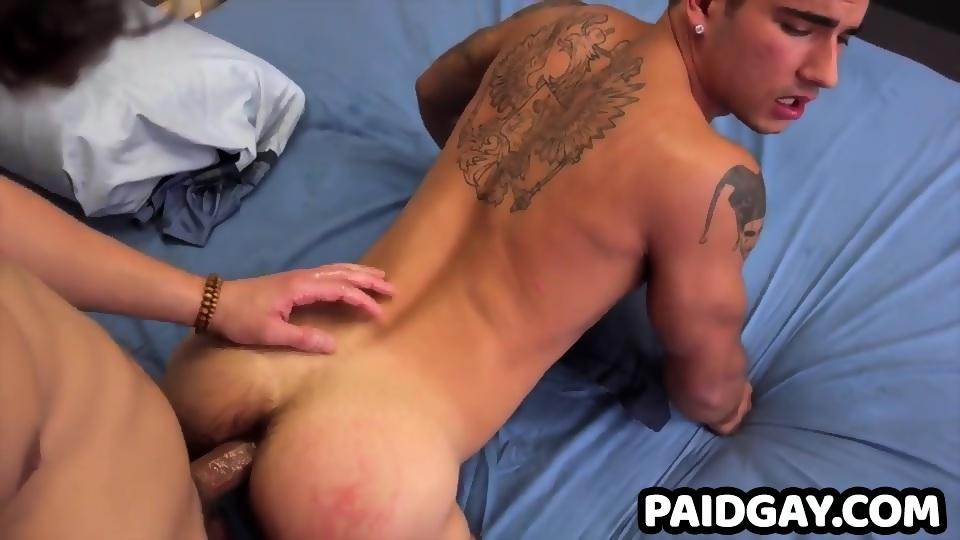 Barebacked stud fucked