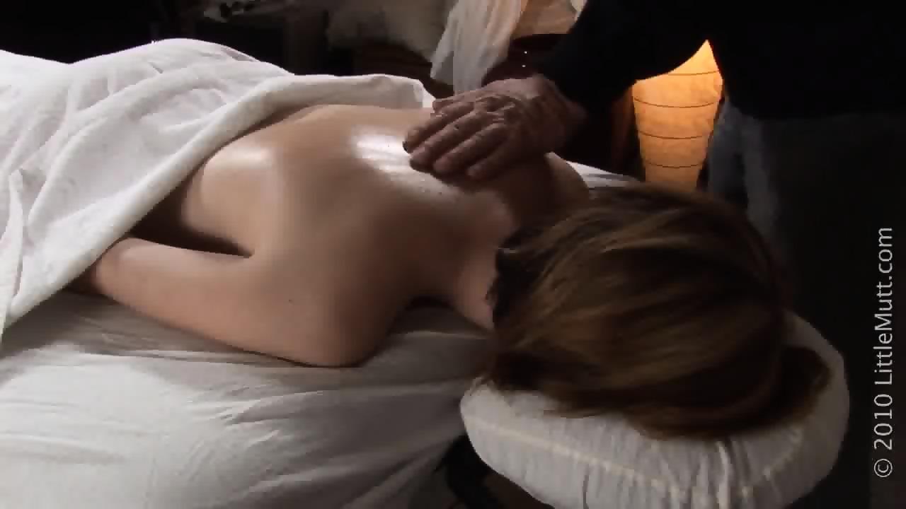 Delicate girl gets strange massage eporner