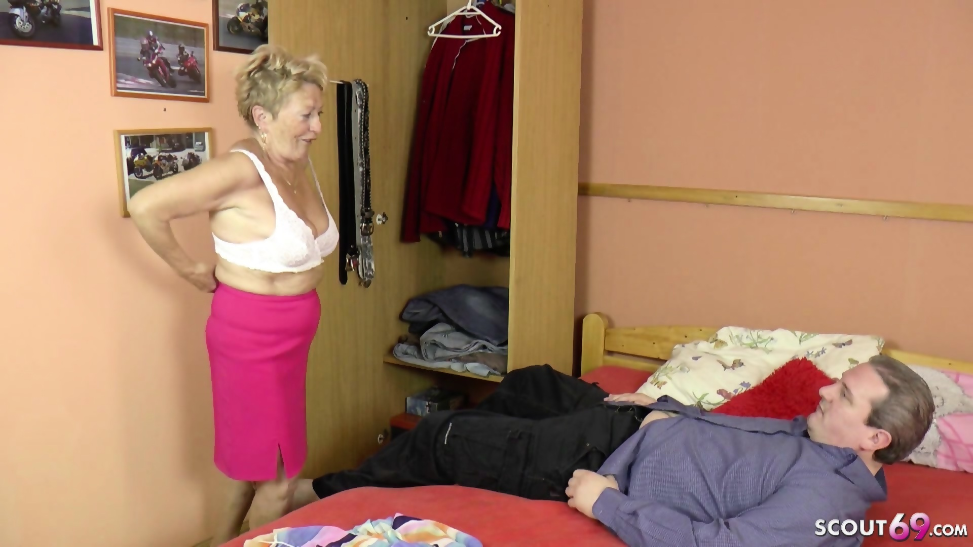 German granny xxx video