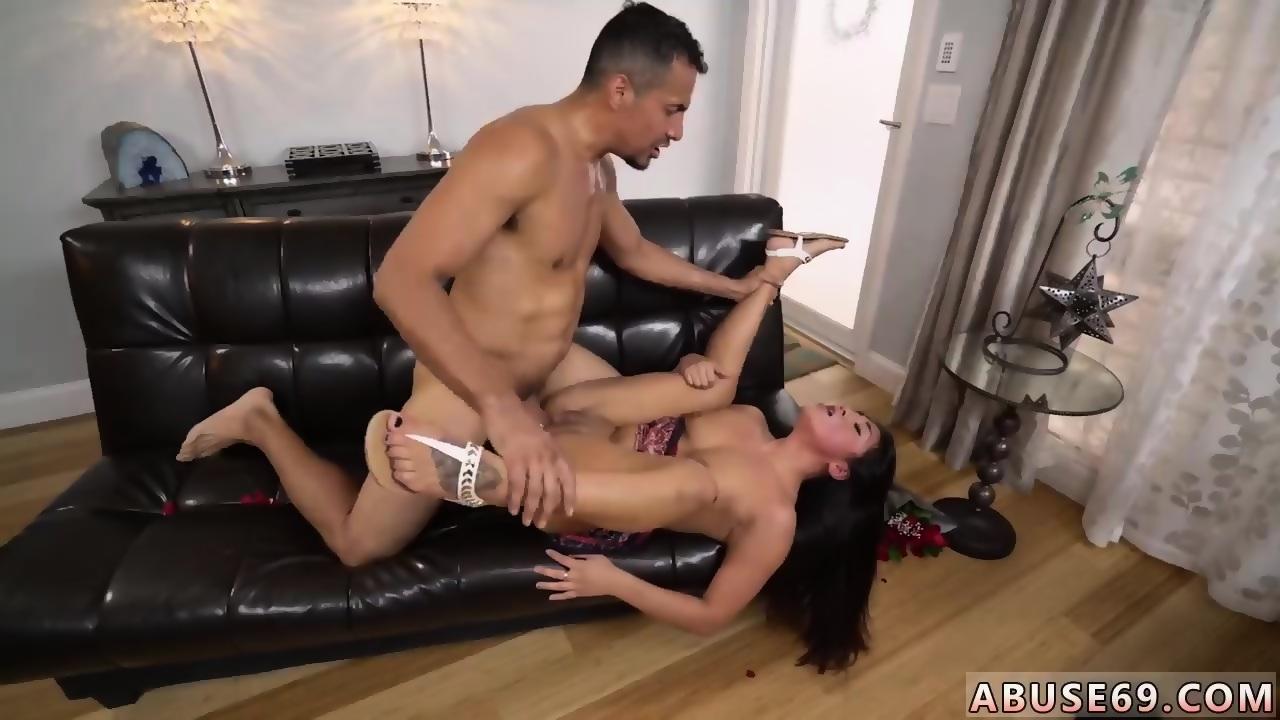 Trina plays with her dildo